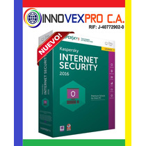 Kaspersky Internert Security 2017 ® I Licencia 3 Pc X 2 Años