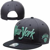 Boné Importado Aba Reta Snapback Original New York Knicks