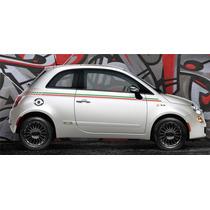 Adesivo Faixa Lateral Fiat 500 Italia 3m - Decalx