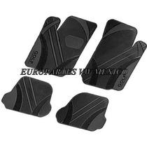Juego 4 Tapetes Original Vw Golf A4 2000-2006 Plastico Negro