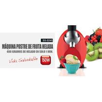 Maquina De Helado Chocolate Frutas Crema Xion Unica