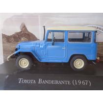 Miniatura Toyota Bandeirante 1967 Carro Inesquecíveis Brasil