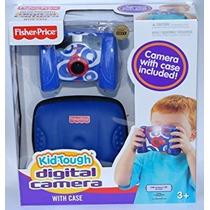Fisher Price Kid Tough Cámara Digital Con Estuche - Azul