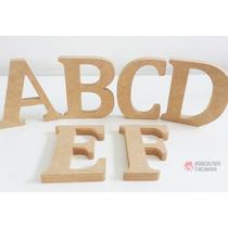 Alfabeto Completo 26 Letras - Mdf Cru - Festa - Aniversário
