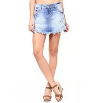 Shorts/saia Jeans Destroyed Sawary