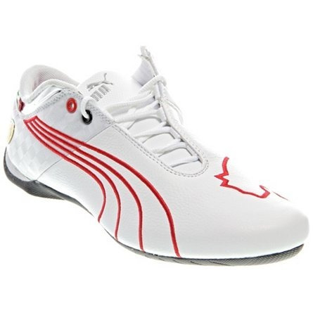 685b7fb5325 Tenis Puma Future Cat M1 Ferrari Big Cat 102 White Red Loc ...