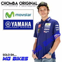 Chomba Polo Yamaha Original Valentino Rossi Vr46 En Mg Bikes