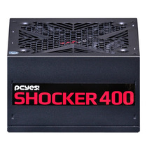 Fonte Atx Pcyes 400w Real Shocker Series 80 Plus White