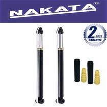 Par Amortecedor Traseiro Nakata Ecosport 2003 Até 2012 + Kit