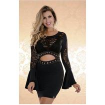 Vestido Feminino Casual,festa Luxo