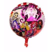 Pack De 50 Globos Metalizados Monster High