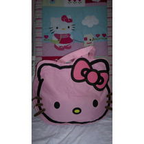 Bolsos Hello Kitty Playeros Modelos Medianos 44cm * 36cm