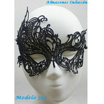 Antifaz Sexy, Tipo Encaje, Disfraz, Máscara Carnaval, Fiesta