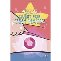 Steven Universe Quest For Gem Magic Tapa Dura En Ingles