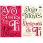 Libros Yo Antes De Ti + Después De Ti (combo 2 Por 1) Pdf