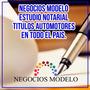 Escribano, Estudio Notarial, Automotores, Escribania