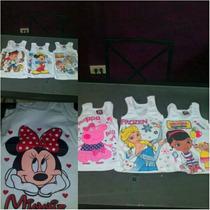 Camisetas Franelillas Estampadas De Niños