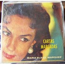 Bolero, Maria Elena Marquez, Cartas Marcadas, Lp 12´, Bfn