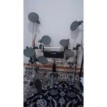Bateria Eletrônica Alesis Dm5, 8 Pads Staff Drum Pedal Pearl