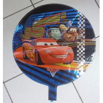 Balão Metalizado Carro Relampago Macquenn Kit24 Frete Grátis