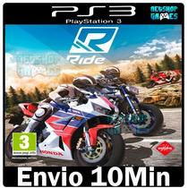 Ride Ps3 Psn [* Playstation 3 Lançamento *] - Midia Digital