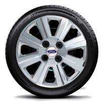 Calota Jogo 4pç Fiesta Ford Ka Courrier Aro 14 Ford G109chrj