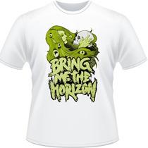 Camiseta Bring Me The Horizon Bmth Camisa Rock Album