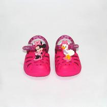 Sandália Disney Feminina Crocs Minnie Margarida Grendene