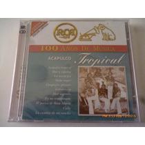 Cd Doble. Acapulco Tropical Rca 100 Años. Bmg, 2001