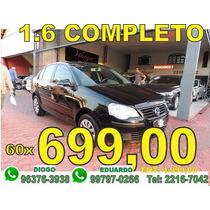 Volkswagen Polo Sedan 1.6 2010 Nao Prisma Nao Fiesta