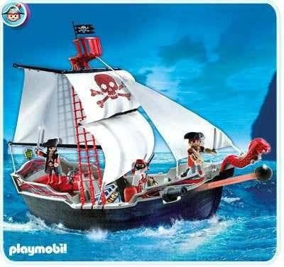Playmobil 5950 barco pirata rosquillo toys en for Barco pirata playmobil