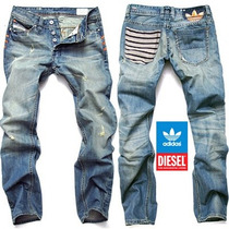 Calça Jeans Diesel/adidas