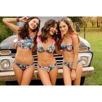 Bikini Sweet Victorian Triáng Soft Y Tiro Corto Semiless 556