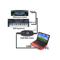 Cable Adaptador De Usb A Midi Conecta Tu Teclado A Tu Pc