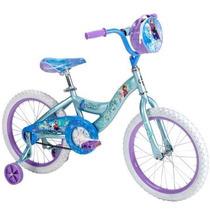Bicicleta Disney Frozen Rodada 18 Huffy Para Niña 5-9 Años