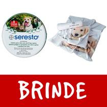 Coleira Seresto Bayer Cães Até 8kg E Gatos Brinde 1 Toalha