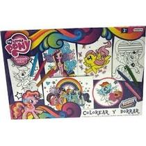 Pequeño Pony Sofia Princesa Juego Pinta Y Borra Licencia