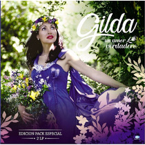 Gilda - Un Amor Verdadero Vinilo 2 Lp + Dvd De Regalo
