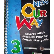 Livro New Our Way 3 - Eduardo Amos/ Elisabeth Prescher E Ern