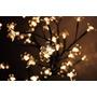 Árvore Abajur Flor Cerejeira Led 127 Voltagem Branco Quente