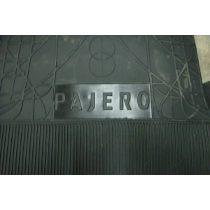 Tapete/carpete Em Borracha Personalizado Pajero Sport