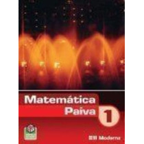Livro Matemática Paiva - 1º Ano Manoel Rodrigues Paiva