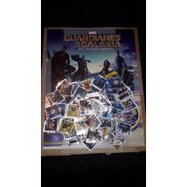 Guardianes De La Galaxia Bubbaloo Album Y 200 Stickers