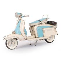 Miniatura Lambreta Li 150 Special Blue 1965 Em Ferro