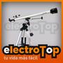Telescopio Refractor F900x60 Galileo Italy 675x Ecuatorial