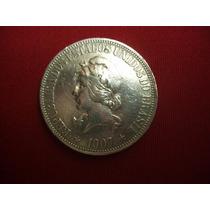 Moeda De Prata 1000 Réis 1907 - X Grammas P687 - L199