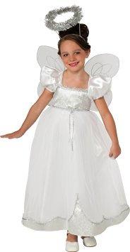 Disfraz Para Nia Rubes Angelique ngel De Vestuario Gran