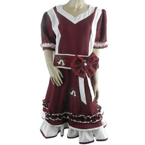 Vestido De Huasa X 4 Unds. Tallas: S - M - L