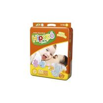 Kit 3 Fraldas Hipopó Baby Mega Tamanho G C/70 Unidades Cada