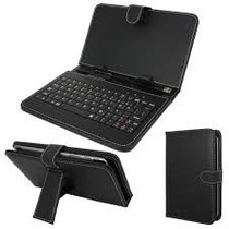 Capa Teclado Tablet Cce Lg Tectoy Foston 7 Polegadas